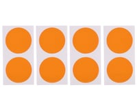 DE Racing Gambler Dirt Oval Mud Plug Wheel Sticker Disks (Orange)