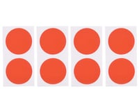 DE Racing Gambler Dirt Oval Mud Plug Wheel Sticker Disks (Red/Orange) | relatedproducts