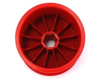 """Image 2 for DE Racing 12mm Hex """"Speedline"""" 2.2"""" 1/10 Stadium Truck Wheel (2) (RT6/RT5) (Red)"""