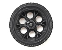 Image 2 for Dromida Pre-Mounted 1/18 Tire (2) (Black)