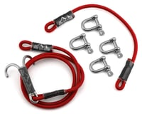 DSM Off-Road Rapid Recovery Kintetic Strap System (Red)