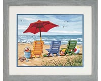 Dimensions  Paint By Number Beach Chair Trio Paint Works 11 X 14""