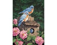 Dimensions 91401 Garden Bluebirds PBN