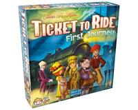Days Of Wonder Ttr First Journey Ticket To Ride