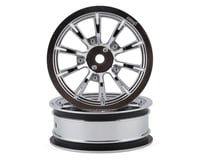 "DragRace Concepts AXIS 2.2"" Drag Racing Front Wheels w/12mm Hex (Chrome) (2)"