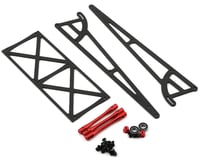 DragRace Concepts Drag Pak Wheelie Bar w/Bearing Wheels (Red)