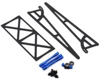 DragRace Concepts Drag Pak Wheelie Bar w/Bearing Wheels (Blue)