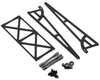 DragRace Concepts Drag Pak Wheelie Bar w/Bearing Wheels (Grey)