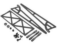 DragRace Concepts Drag Pak Wheelie Bar w/O-Ring Wheels (Grey) (Mid Motor)