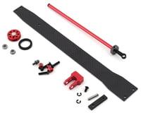 DragRace Concepts Drag Pak Flat Wheelie Bar (Red)