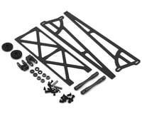 DragRace Concepts Slider Wheelie Bar w/Plastic Wheels (Grey) (Mid Motor)