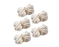 Duncan Toys Duncan  White Yo-Yo String, 5-Pack 100% Cotton