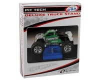 Image 2 for DuraTrax Pit Tech Deluxe Truck Stand (Blue)