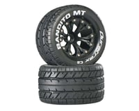 "DuraTrax Bandito Monster Truck 2.8"" Mounted Offset Tires (Black)(2) 