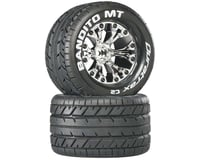 "DuraTrax Bandito MT 2.8"" Mounted 1/2"" Offset Tires, Chrome (2)"