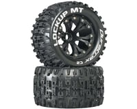 "DuraTrax Lockup MT 2.8"" 2WD Mounted Front C2 Tires, Black (2)"