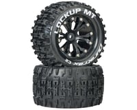 """DuraTrax Lockup MT 2.8"""" 2WD Rear Mounted Truck Tires (Black) (2) 