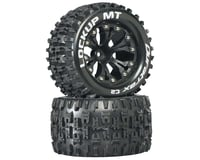 "DuraTrax Lockup MT 2.8"" 2WD Front Mounted Truck Tires (Black) (2) (1/2"" Offset) 