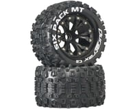 "DuraTrax Six-Pack MT 2.8"" 2WD Mounted Front C2 Tires (Black) (2)"