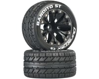 """DuraTrax Bandito ST 2.8"""" 2WD Mounted Front C2 Tires (Black) (2)"""