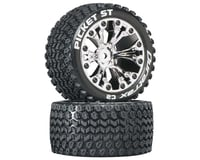 """DuraTrax Picket ST 2.8"""" 2WD Mounted 1/2"""" Offset Tires (Chrome) (2)   relatedproducts"""