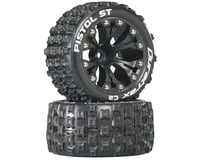 "DuraTrax Pistol ST 2.8"" Mounted 1/2"" Offset C2 Tires, Black (2)"