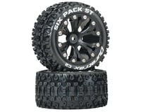 "DuraTrax Sixpack ST 2.8"" 2WD Rear Mounted Truck Tires (Black) (2) 