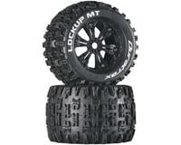 "DuraTrax Lockup MT 3.8"" Mounted Tires, Black (2)"