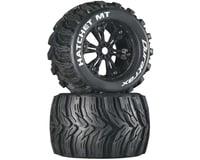 "DuraTrax Hatchet MT 3.8"" Mounted Tires, Black (2)"