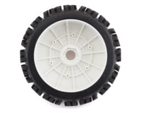 Image 2 for DuraTrax Pre-Mounted Lockup 1/8 Buggy Tires (White) (2)(Soft - C2)
