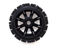 Image 2 for DuraTrax Lockup 1/8 Mounted Buggy Tires (Chrome) (2)