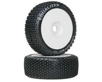 DuraTrax Pre-Mounted Equalizer 1/8 Buggy Tire (2) (Soft- C2) (C2 - Soft)