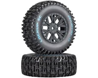 DuraTrax Lockup SC Tire C2 Mounted: SC10 4x4 (2)