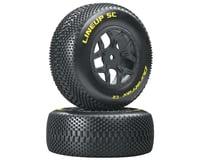 DuraTrax Lineup 1/10 SC Tire C2 Mounted Tires: SCTE 4x4 (2)