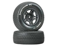 DuraTrax Shotgun SC Tire C2 Mounted Rear Tires: Slash (2)