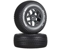 DuraTrax Shotgun SC 1/10 Mounted Truck Tires (Black) (2) (TEN-SCTE) | relatedproducts