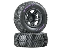 DuraTrax Posse SC C2 Mounted Tires, Front: Slash (2)