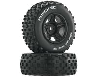 DuraTrax Punch SC 1/10 Mounted Slash Rear Truck Tires (Black) (2) (C2)
