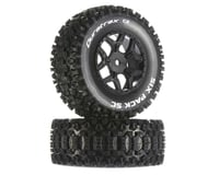 DuraTrax Six-Pack SC C2 Mounted Tires (2) (Losi TEN-SCTE 2.0 SCTE 4x4)
