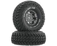 "DuraTrax Scaler CR C3 Mounted 1.9"" Crawler Tires, Chrome (2)"