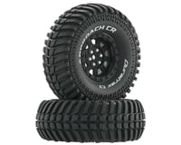 "DuraTrax Approach CR C3 Mounted 1.9"" Crawler Tires (Black) (2)"