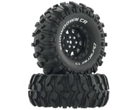 "DuraTrax Showdown CR C3 Mounted 1.9"" Crawler Tires (Black) (2)"
