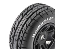 DuraTrax Bandito Pre-Mounted SC Tires (Black) (2) (C2)