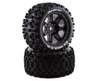 DuraTrax Six Pack X Tires Mounted Black 24mm DTXC5502 (Traxxas X-Maxx)