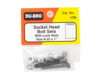 "Image 2 for DuBro Socket Bolts w/Nuts (6-32 x 1"")"