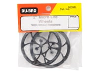 """Image 2 for DuBro 2"""" Micro Lite Wheels (2)"""