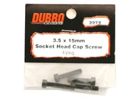 Image 2 for DuBro 3.5x15mm Socket Head Cap Screws (4)