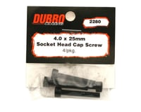 Image 2 for DuBro 4x25mm Socket Head Cap Screws (4)
