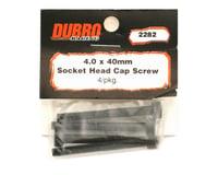 Image 2 for DuBro 4x40mm Socket Head Cap Screws (4)