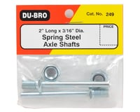 """Image 2 for DuBro 3/16 x 2"""" Axle Shafts (2)"""